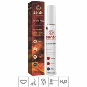 Gel Comestível Orale Hot 30ml ( ST113 ) - Morango - lojasacaso.com.br