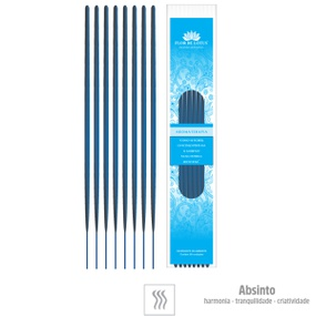 Incenso Artesanal 8 Varetas (ST133) - Absinto - lojasacaso.com.br