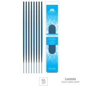 Incenso Artesanal 8 Varetas (ST133) - Lavanda - lojasacaso.com.br