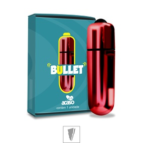Cápsula Vibratória Bullet Acaso (MV002-ST221) - Vermelho... - lojasacaso.com.br