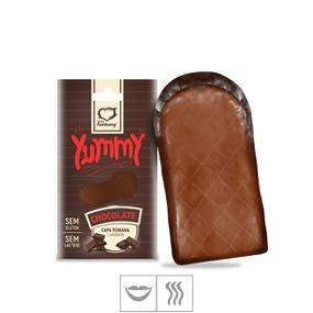 Capa Peniana Comestível Yummy 1un (ST591) - Chocolate - lojasacaso.com.br