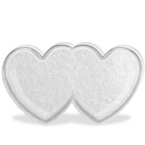 Embalagem de Coração Duplo Acrílico Para 5 Bolinhas (15001) ... - PURAAUDACIA