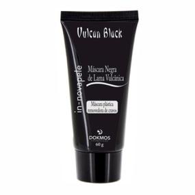 Máscara Negra de Lama Vulcan Black 60g (17075) - Padrão - PURAAUDACIA