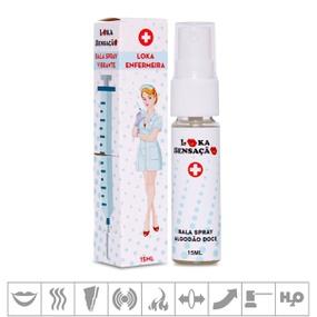 Spray Para Sexo Oral Loka Enfermeira 15ml (17082) - Algo... - PURAAUDACIA
