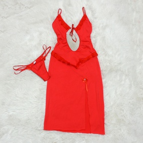 *Camisola Allana (DM029) - Vermelho - PURAAUDACIA