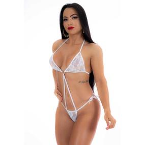 Mini Body Argola (PS7072) - Branco - PURAAUDACIA