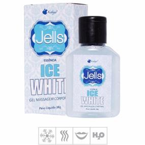 Gel Comestível Jells Ice 30ml (ST107) - White - PURAAUDACIA