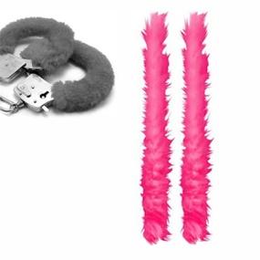 Capa Para Algema em Pelúcia (ST193) - Rosa Pink - PURAAUDACIA