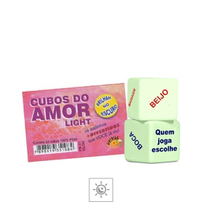 Dado Duplo Brilha No Escuro DV (DC-ST268) - Cubos do Amor Li... - PURAAUDACIA