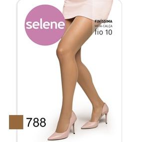 Meia Calça Finíssima Selene Fio 10 (ST373) - Natural - PURAAUDACIA