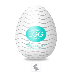 Masturbador Egg Magical Kiss SI (1013-ST457) - Wavy - PURAAUDACIA