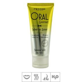 Gel Comestível Oral Gourmet Hot 45g (ST494) - Banana Split - PURAAUDACIA