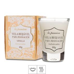 Vela Beijável La Passion 40g (ST509) - Vanilla - PURAAUDACIA