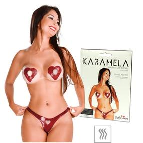 Lingerie Comestível Karamela (ST574) - Chocolate - PURAAUDACIA