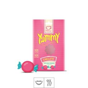 Tapa Sexo Comestível Feminino Yummy (ST590) - Chiclete - PURAAUDACIA