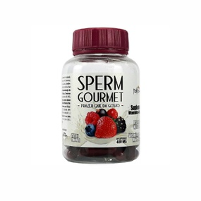Suplemento Vitamínico Sperm Gourmet 60 Cápsulas (VT001) - Pa... - PURAAUDACIA