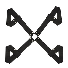 Amarras 4 Estações Dominatrixxx (DX1857) - Preto - PURAAUDACIA