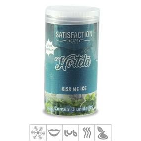 Bolinha Beijável Kiss Me Satisfaction Caps 3un (st435) - Hor... - PURAAUDACIA