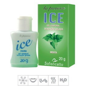 Gel Comestível La Passion Ice 20ml (ST503) - Menta - PURAAUDACIA