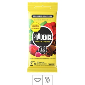 Preservativo Prudence Cores e Sabores 12un (00380) - Padrã... - tabue.com.br
