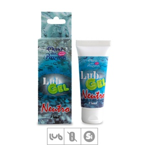 Lubrificante LubGel Siliconado 15ml (17399) - Neutro - tabue.com.br
