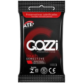 Preservativo Gozzi Touch Sensitive 3un Validade 02/22 (17565... - tabue.com.br