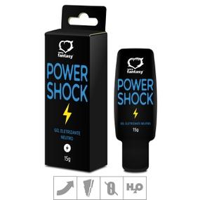 Excitante Unissex Power Shock 15g (SF6419) - Neutro - tabue.com.br