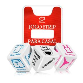 Dado Triplo Jogo Strip Para Casal (BR009) - Padrão - tabue.com.br