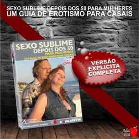 DVD Sexo Sublime Depois Dos 50 Para Mulheres (LOV11-ST282) -... - tabue.com.br