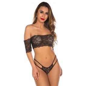 Conjunto Gabriela (PS8332) - Preto - tabue.com.br