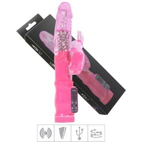 Vibrador Rotativo Recarregável VP (RT019-14565) - Rosa - tabue.com.br