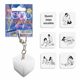 Dado Chaveiro Brilha No Escuro (DC-ST266) - Jogo do Prazer - tabue.com.br