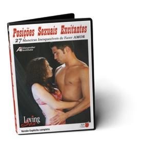 DVD Posições Sexuais Excitantes (ST282-17498) - Padrão - tabue.com.br
