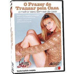 DVD O Prazer De Transar Pela Casa (ST282) - Padrão - tabue.com.br