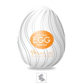 Masturbador Egg Magical Kiss SI (1013-ST457) - Twister - tabue.com.br