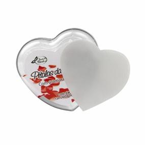 Pétalas da Sedução Embalagem Coração Morango C/ Champagne 12... - tabue.com.br