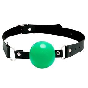 Mordaça bola Dominatrixxx (DX521) - Verde - tabue.com.br