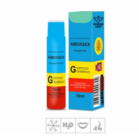 Gel Comestível Amoxsex 18ml (SL1471) - Hortelã - tabue.com.br