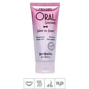 Gel Comestível Oral Gourmet Hot 45g (ST494) - Marshmallow - tabue.com.br