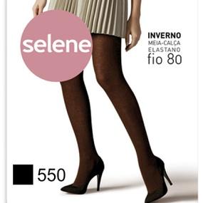 Meia Calça Selene Inverno Fio 80 (ST370) - Preto - tabue.com.br