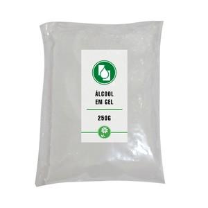 Álcool Gel 70% 250g Refil