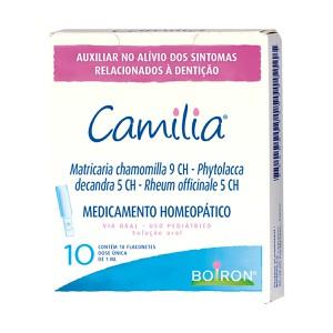 Camilia Solução oral 10 flaconetes Boiron