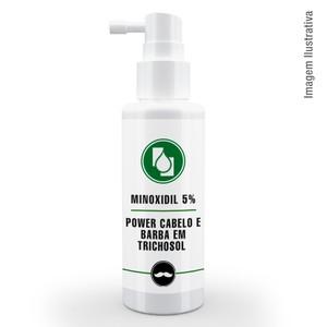 Minoxidil 5% Power Cabelo e Barba em Trichosol ™