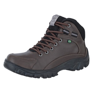 Coturno Casual Masculino Crshoes Cafe - CRSHOES