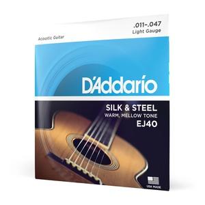 Encordoamento Violão Aço .011 D'Addario Silk & Ste... - DI GIORGIO Violões | 113 Anos de Tradição