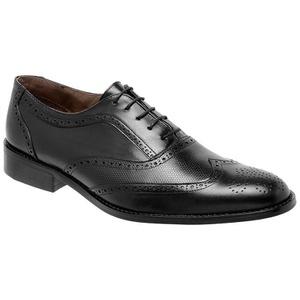 Sapato Social Oxford Pelica Preto - FrancaSapatos