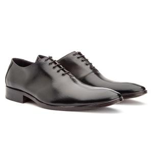 Sapato Social Masculino Oxford Couro Cromo Preto 2... - FrancaSapatos