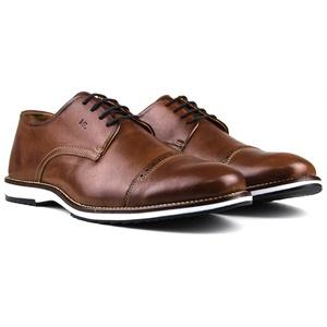 Sapato Masculino Brogue Derby Comfort Castor 8005 - FrancaSapatos