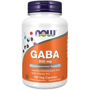 GABA - 500MG - 100 CÁPSULAS VEGETAIS