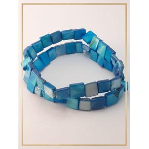 Pulseira Bracelete Confeccionada com madrepérolas ... - MARINA JOIAS